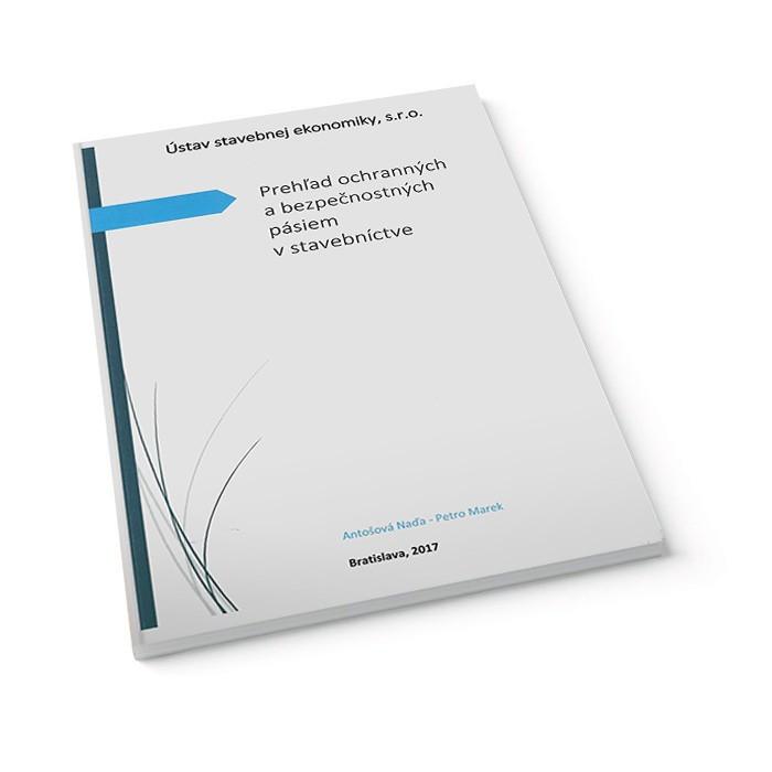 Prehľad ochranných a bezpečnostných pásiem v stavebnictve - kniha