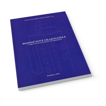 Rozpočtové ukazovatele - kniha