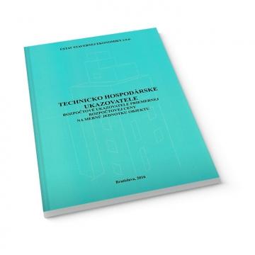 Technicko hospodárske ukazovatele - kniha